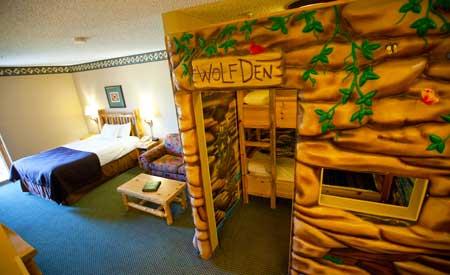 Themed Hotel Rooms Niagara Falls