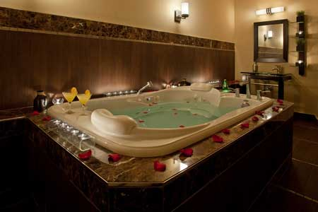 luxurous bath