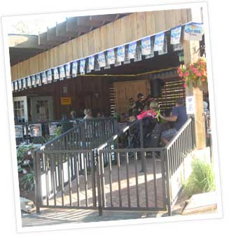 licensed patio