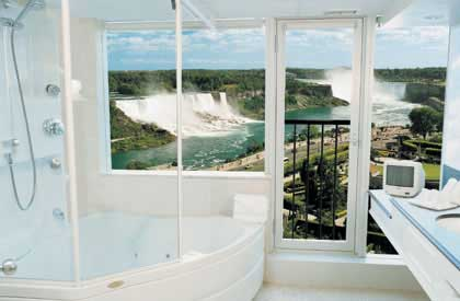 luxury suite with a view