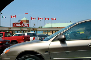 visiting canada- border crossing